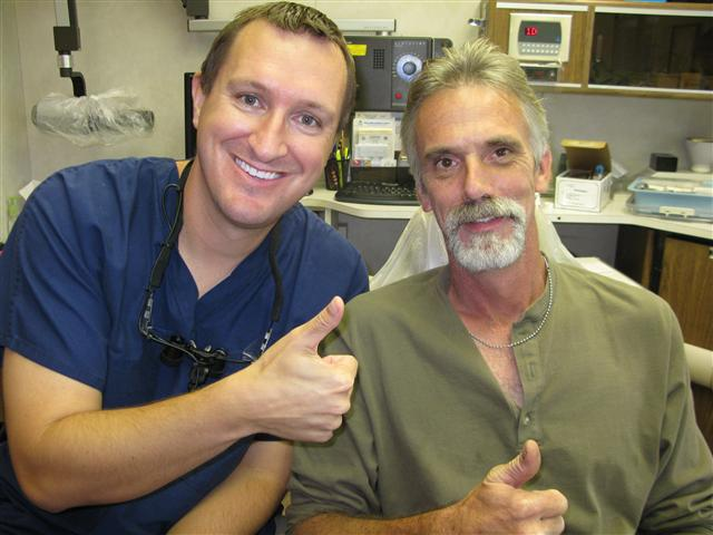 Pasadena Texas Dental Implant Patient