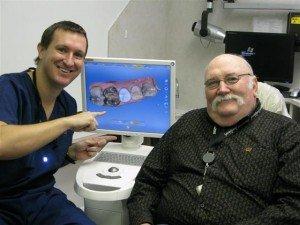 Cerec tooth crown in Pasadena Texas